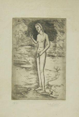 Gravure Carra - La nascita di Venere, 1923