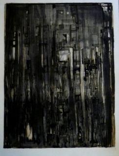 Lithographie Vieira Da Silva - La nef