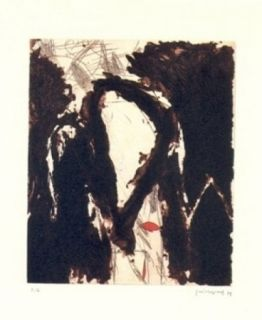 Gravure Guinovart - La nit