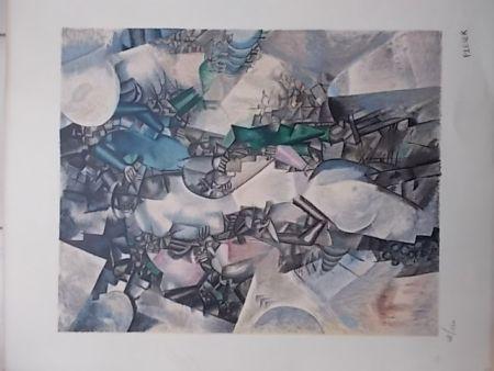 Lithographie Leger - La Noce