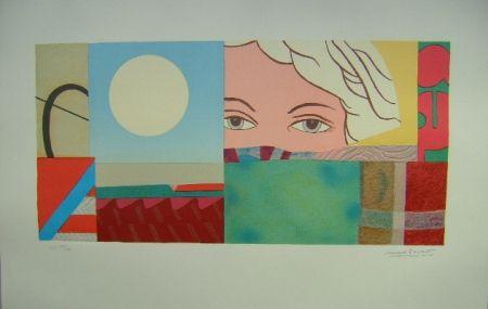 Lithographie Papart - La noia