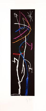 Gravure Miró - La nuit étroite