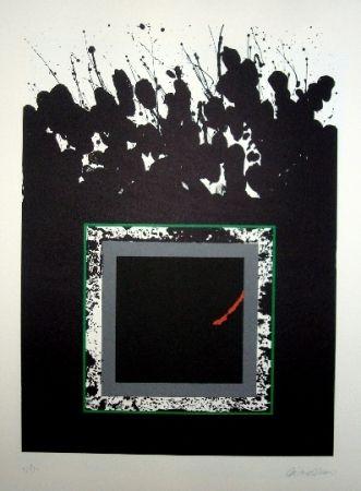 Lithographie Lopez Osornio - La otra geometria 13