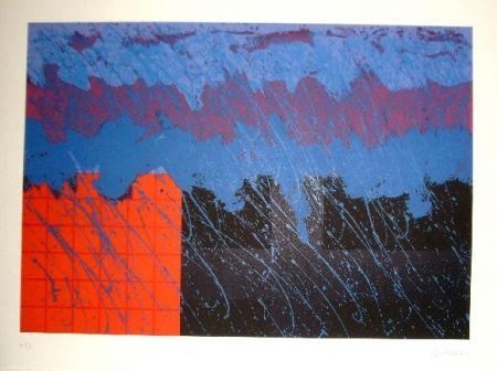 Lithographie Lopez Osornio - La otra geometria 2