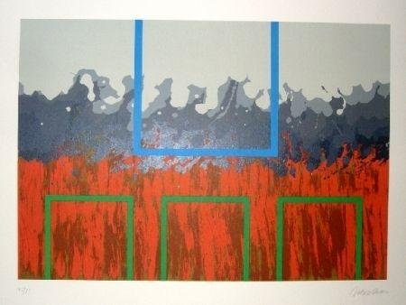 Lithographie Lopez Osornio - La otra geometria 4
