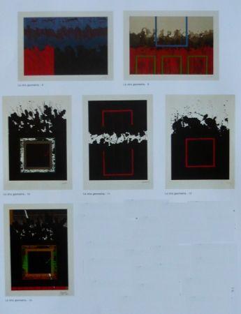 Lithographie Lopez Osornio - La otra geometria _ 6 lithographs