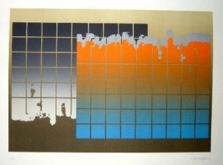 Lithographie Lopez Osornio - La otra geometria 7