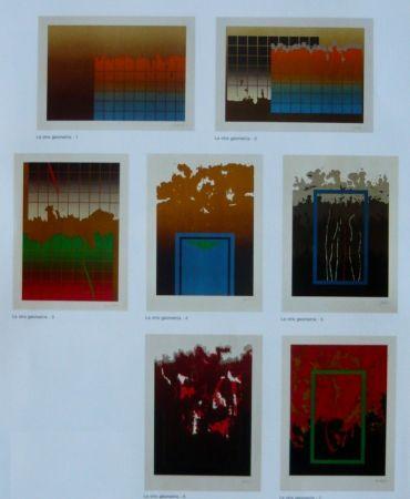Lithographie Lopez Osornio - La otra geometria _ 7 lithographs