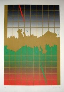 Lithographie Lopez Osornio - La otra geometria 8