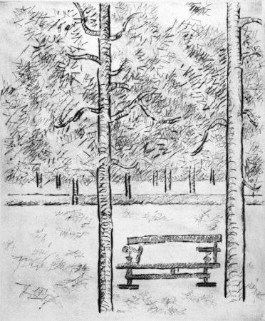 Pointe-Sèche Tamburi - La panchina