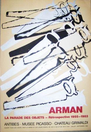 Affiche Arman - La parades des objets