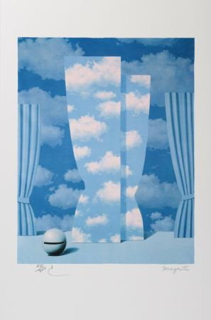 Lithographie Magritte - La Peine Perdue