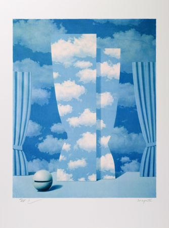 Lithographie Magritte - La Peine Perdue (The Wasted Effort)