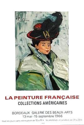Lithographie Picasso - La peinture française Collections americaines
