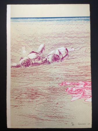 Lithographie Cremonini - La pelle al sole