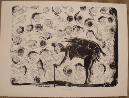 Lithographie Toledo - La pescadora