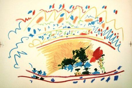 Lithographie Picasso - La petite corrida