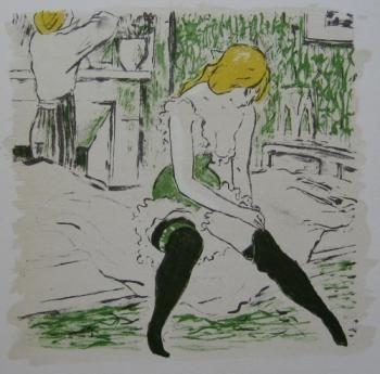Livre Illustré Bonfils - La petite Jeanne pâle