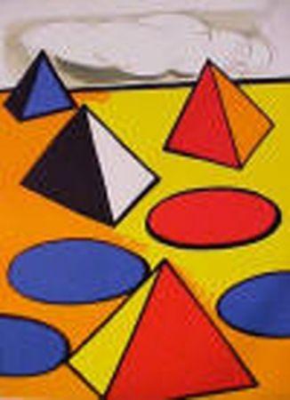 Lithographie Calder - La Piege