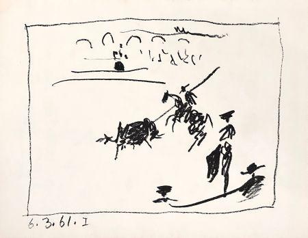 Lithographie Picasso - La Pique