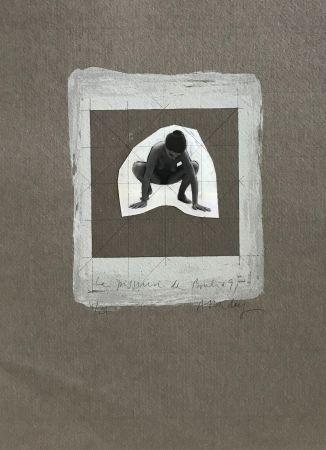 Sérigraphie Delay - La pisseuse de Bouliac, 91