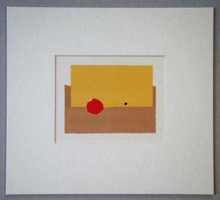 Lithographie De Stael - La Pomme - 1952
