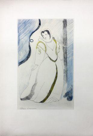 Eau-Forte Laurencin - LA PRINCESSE DE CLÈVES (Pl. III signée au crayon). 1947