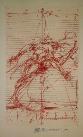 Livre Illustré Velickovic - La prison chiffree du temps - 18 gravures signées