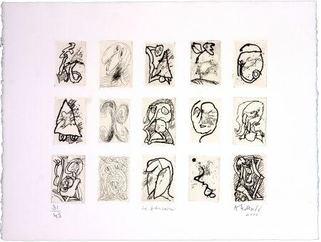 Gravure Alechinsky - La Quinzaine