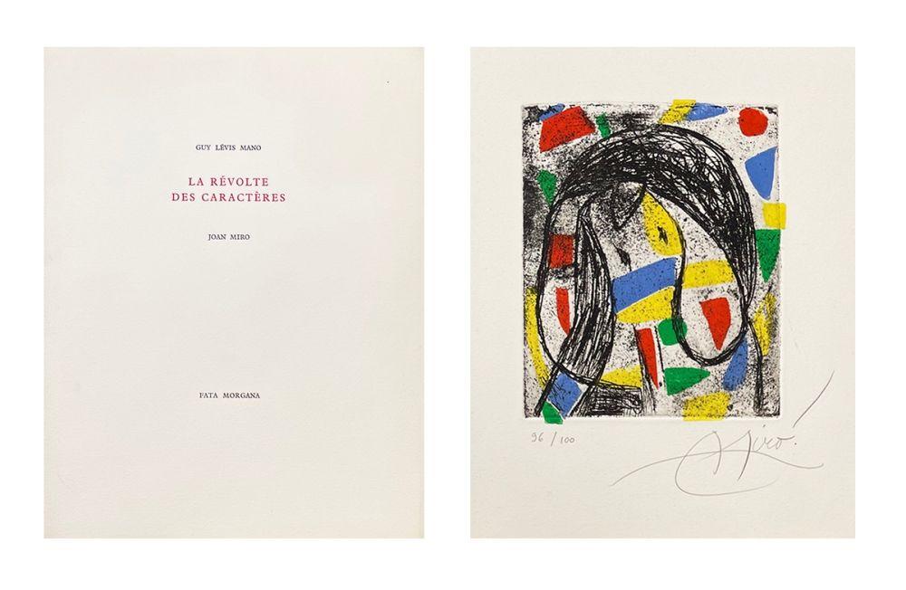 Livre Illustré Miró - La révolte des caractères