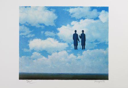 Lithographie Magritte - La Reconnaissance Infinie