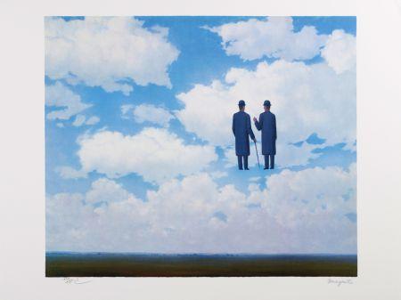 Lithographie Magritte - La Reconnaissance Infinie (The Infinite Recognition)
