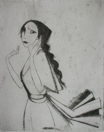Gravure Laurencin - La Romance