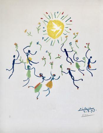 Lithographie Picasso - La Ronde De La Jeunesse (Edition: 200)