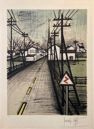 Lithographie Buffet - La route