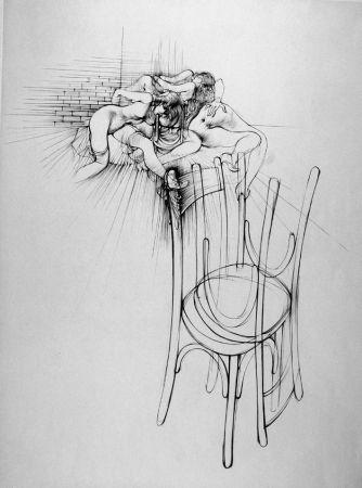Eau-Forte Bellmer - La sedia