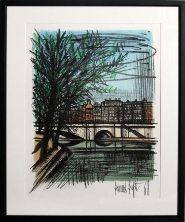 Lithographie Buffet - La Seine