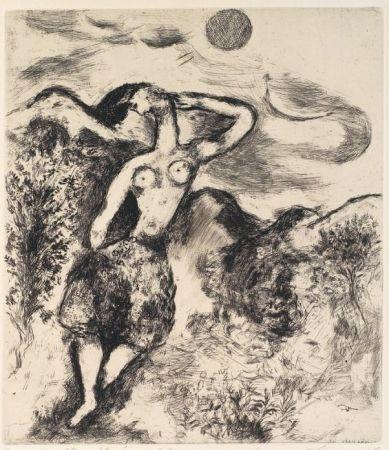 Eau-Forte Et Aquatinte Chagall - La souris métamorphosée en fille