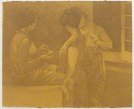Lithographie Baxter - La Stirairce