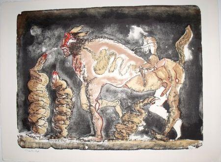 Lithographie Toledo - La Suma de la Serpiente