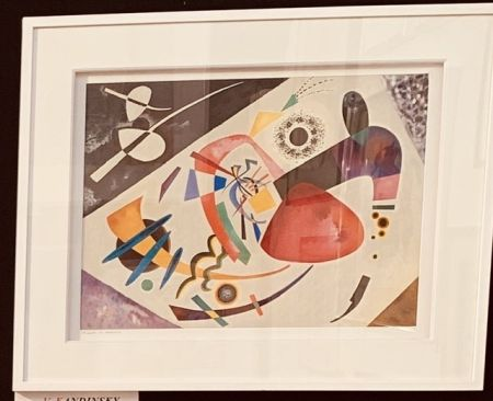 Lithographie Kandinsky - La tâche rouge