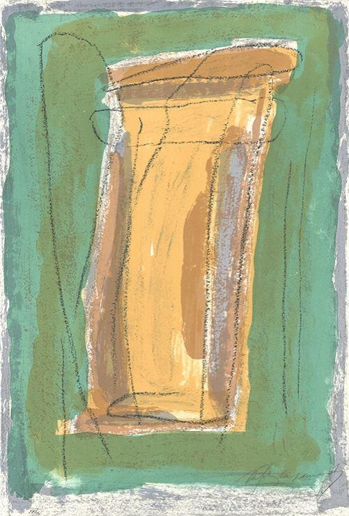 Lithographie Ràfols Casamada - La tardor 3 / Autumn 3