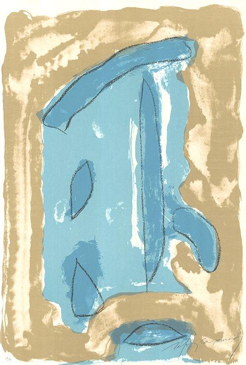 Lithographie Ràfols Casamada - La Tardor 5 / Autumn 5