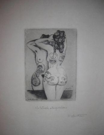 Pointe-Sèche Martini - La tatuata allo specchio