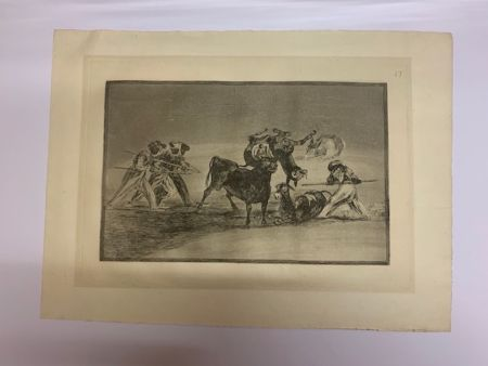 Eau-Forte Et Aquatinte Goya - La Tauromaquia