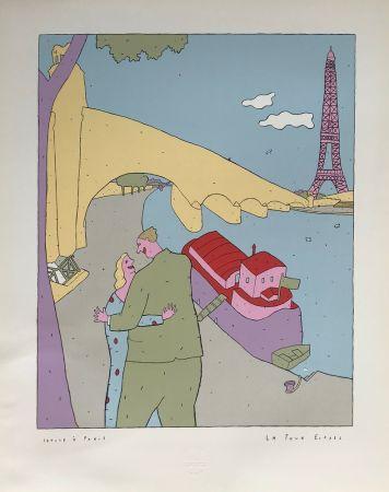 Sérigraphie Kœchlin - La Tour-Eiffel