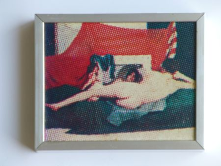 Sérigraphie Jacquet - La Vénus au miroir d'après Velasquez