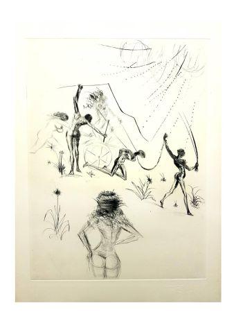 Lithographie Dali - La Vénus aux Fourrures