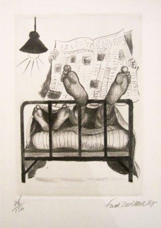 Lithographie Zeller - La vérité, nouvelles