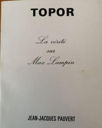 Livre Illustré Topor - La Vérité sur Max Lampin